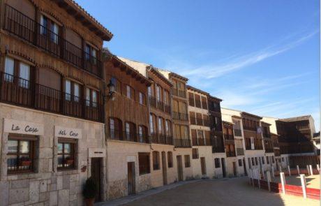 fachada la casa del coso casas rurales en valladolid