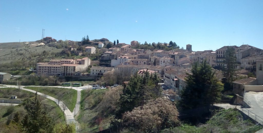 Panorámica de Sepúlveda, rutas por la naturaleza en Segovia