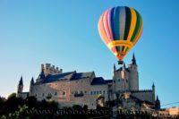 Volar en globo en Castilla y León