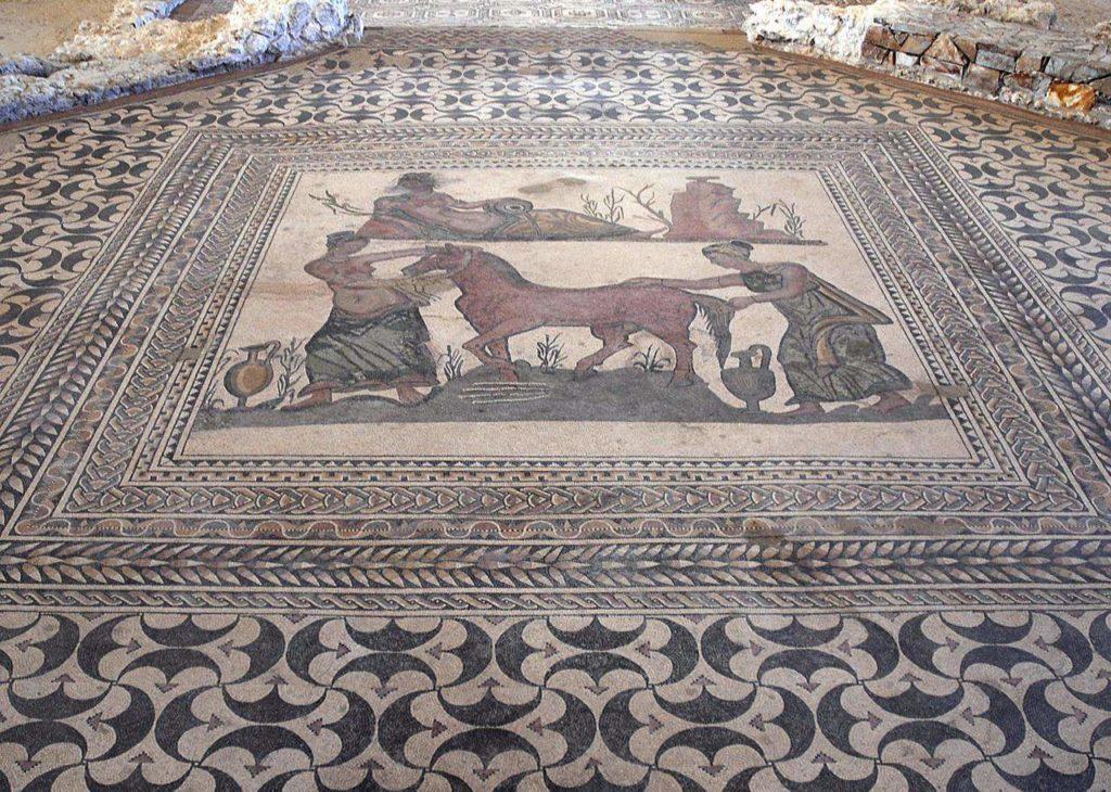 Museo de las Villas Romanas en Puras mosaico