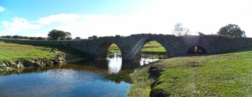 Puente Peñaserracín Salamanca planes con mascota