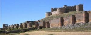 Murallas del castillo de Berlanga de Duero, Soria