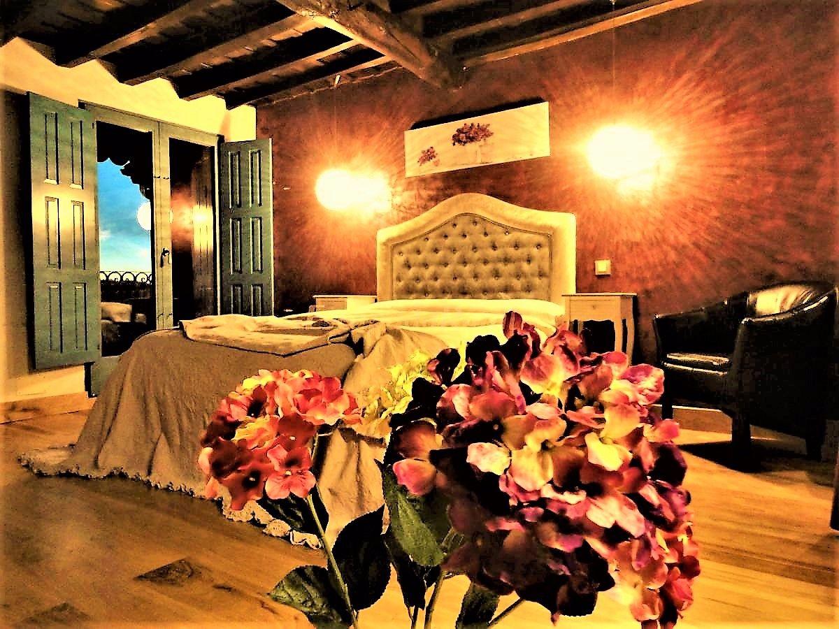 casa rural cabo la aldea dormitorio