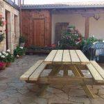 patio casa rural valle tosande casas rurales en Palencia