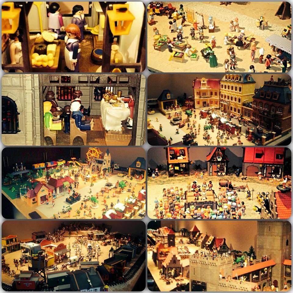 Exposión de playmobil en el Hotel Los Almirantes