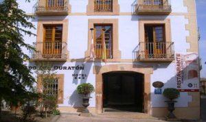 Exterior hotel vado del Duratón