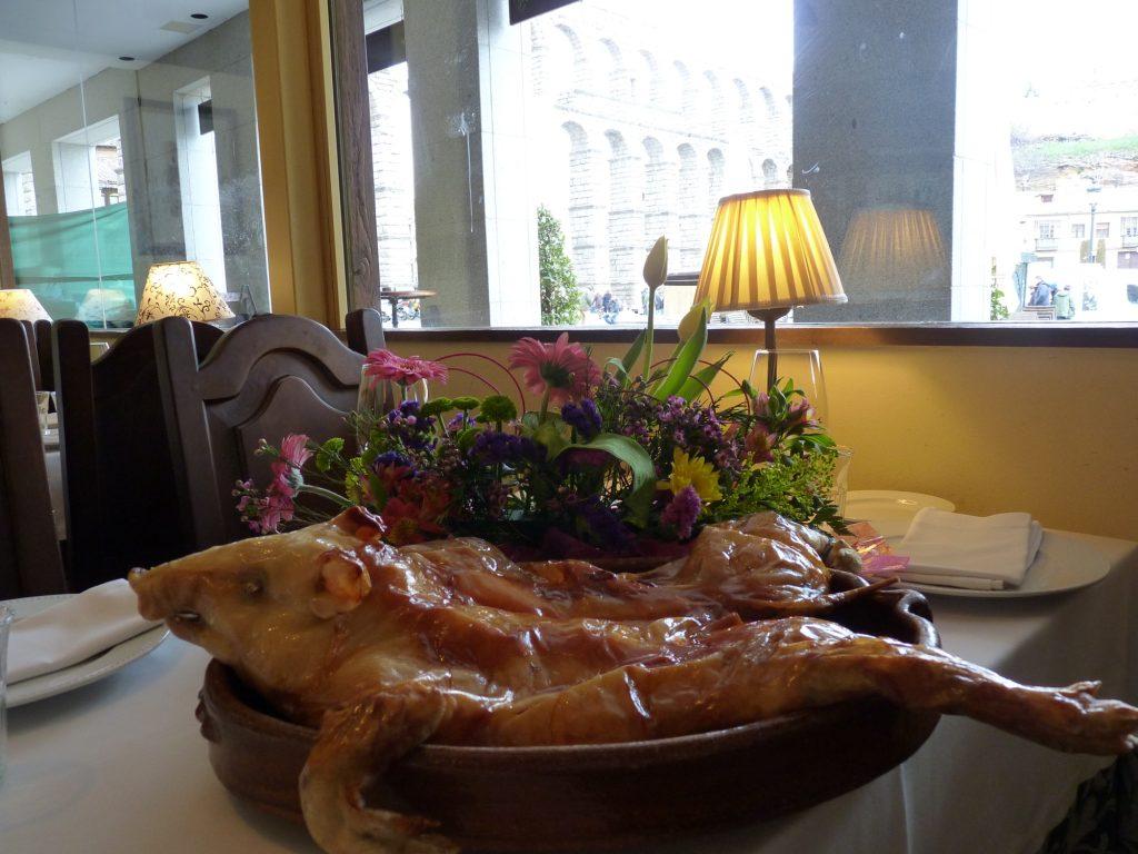 ruta gastronómica por segovia