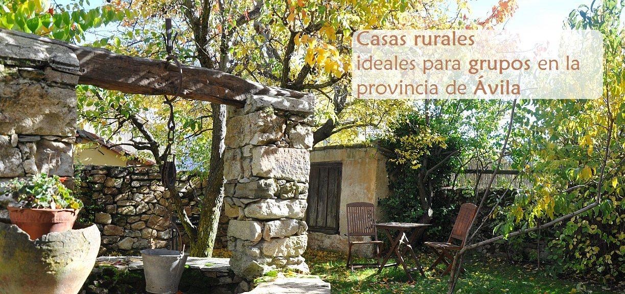 Casas rurales para grupos en vila siente castilla y le n - Casas rurales en avila baratas ...