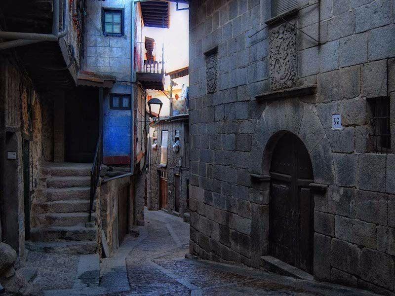 calle de Miranda del Castañar turismo en castilla y león