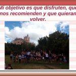 Arancha Labrador, guía oficial de turismo en Segovia