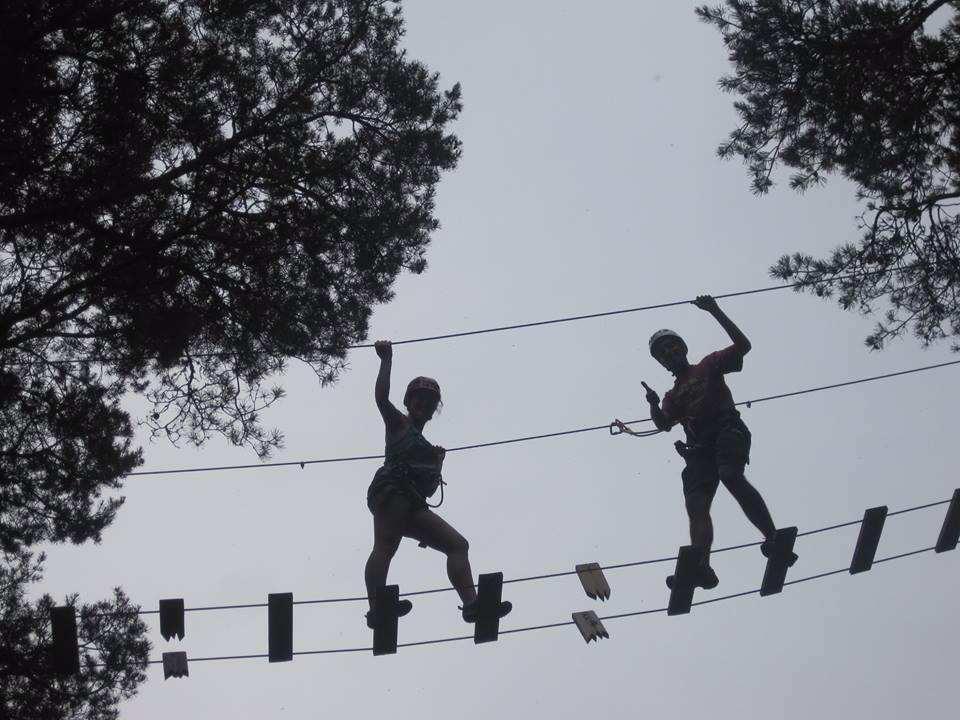 parque de aventuras Gredos Tormes, circuito rojo