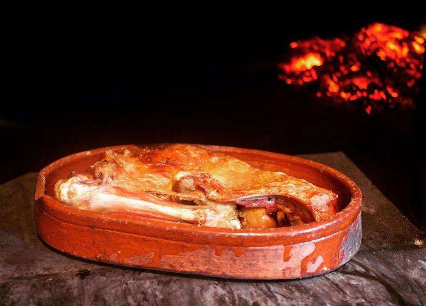Horno Segoviano, asados cordero