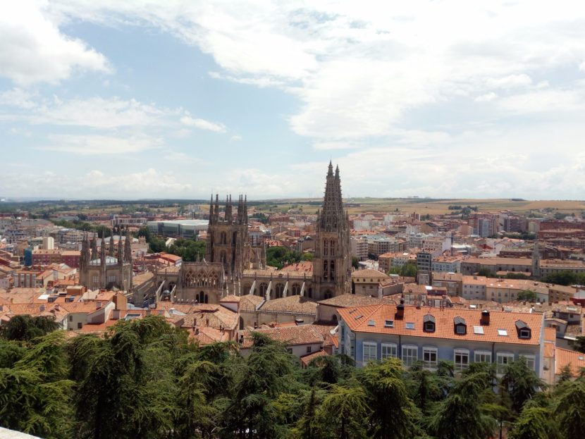 curiosidades sobre Burgos vistas desde el Mirador