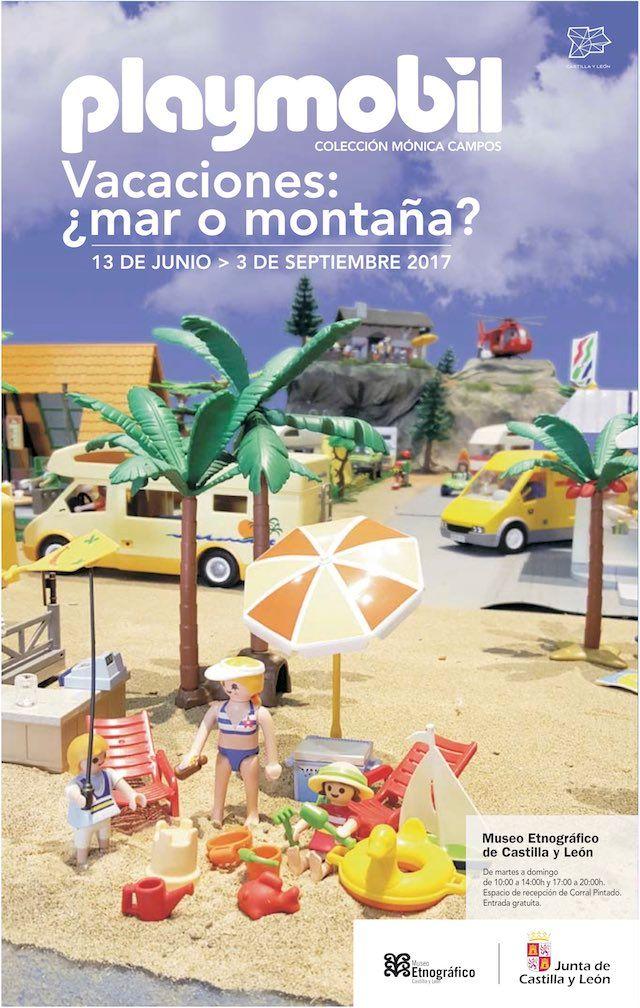 planes en Castilla y Léon Exposición Playmobil