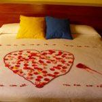 dormitorio corazón Hotel Rural Vado del Duratón