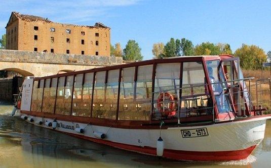 Barco Canal de Castilla, Medina de Rioseco, Valladolid