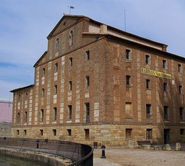 Fábrica de harinas en Canal de Castilla, Medina de Rioseco